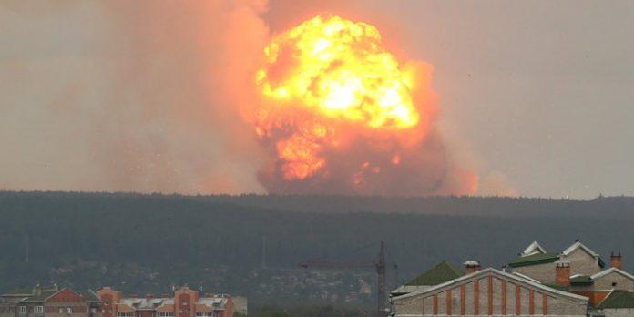 Russia Explosion