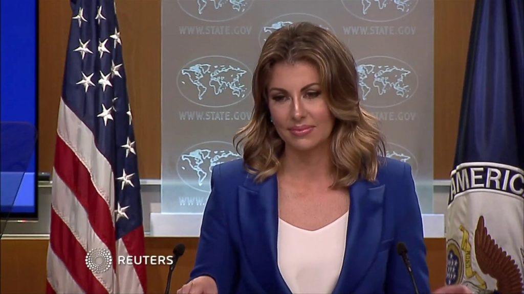 US warns Chinese media Julie Eadeh