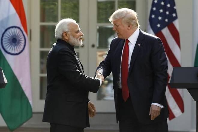 Modi - Trump over kashmir issue