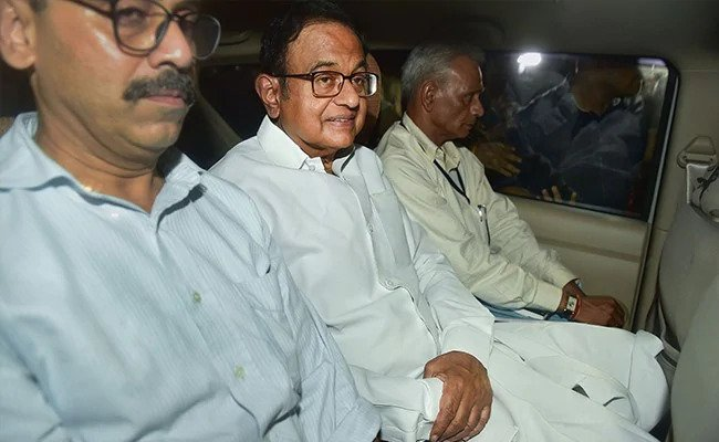 P Chidambaram has been arrested- THN