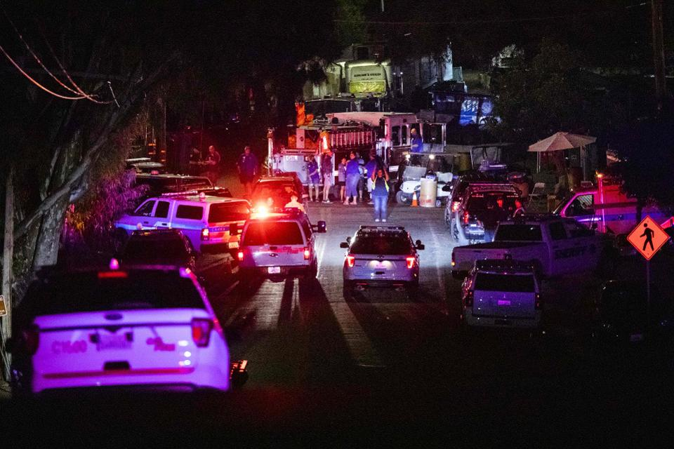 Mass shooting in California food festival