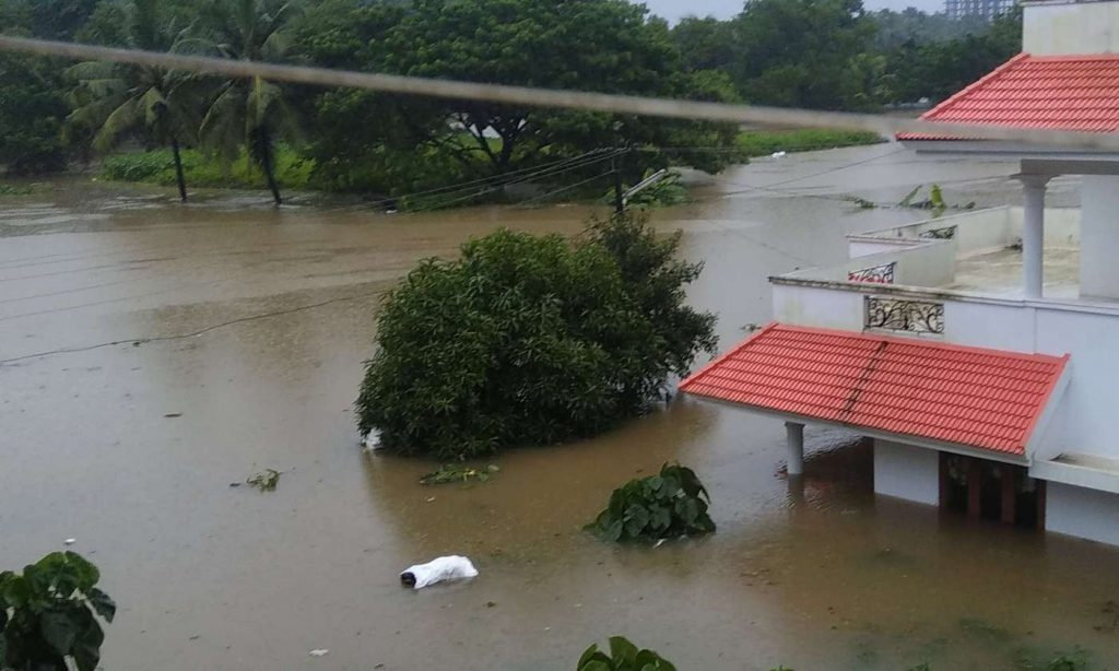 Kerala Flood havoc in many states of the country,