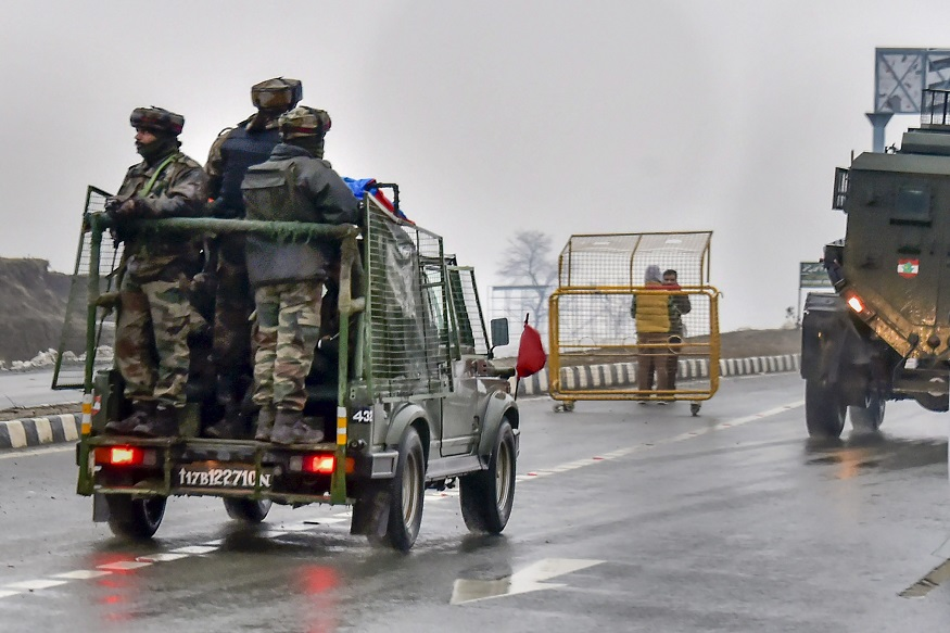 J&K on high alert