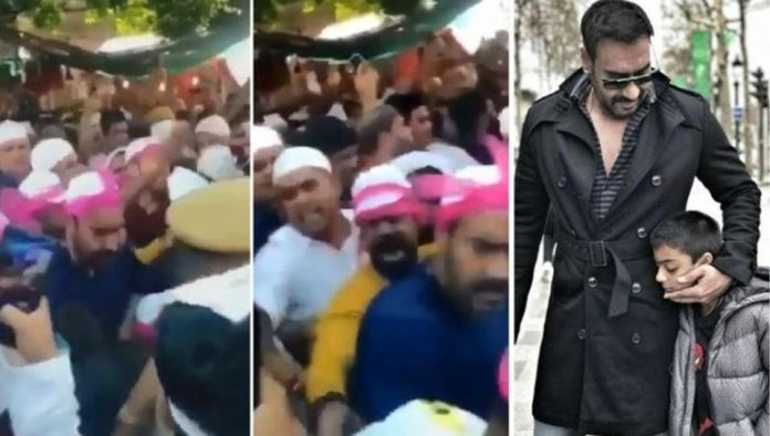 Ajay Devgan arrives at Ajmer Sharif dargah