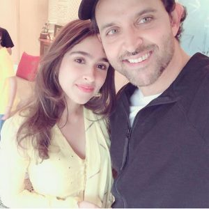 Pashmina and Hrithik Roshan