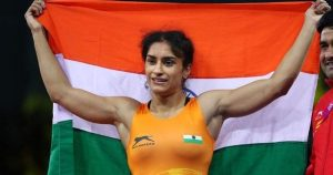 Vinesh Phogat becomes 1st Indian Wrestler to seal place at 2020 Tokyo Olympics