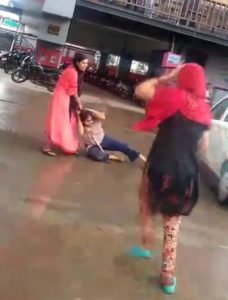 Wife beating husband's girlfriend