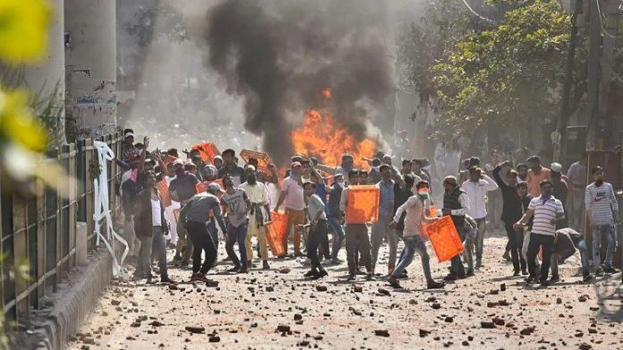 Delhi Protest in Which 4 killed And a DCP injured