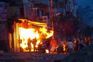 Delhi Riots House Burnt Down