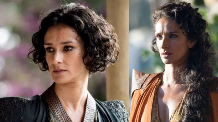 Indira Varma infected with COVID-19