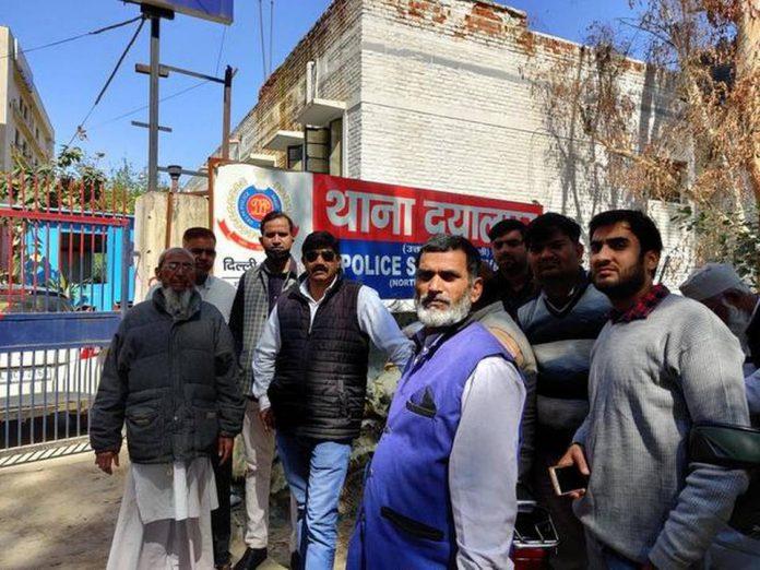 Three muslim men picked up by police in Delhi