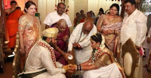 Karnataka CM's Son gets married