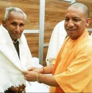 muslim community laughing at the demise of Yogi father