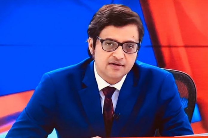 attacked Arnab Goswami