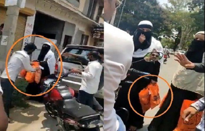 Muslim attack muslim woman