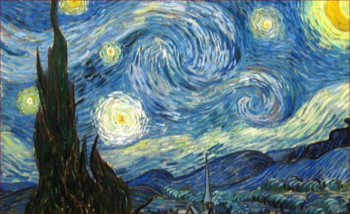 Vincent Van Gogh's Starry Night.