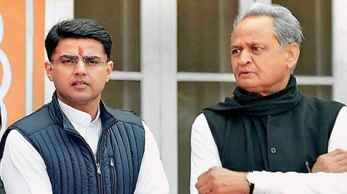 Rajasthan CM Ashok Gehlot and Sachin Pillot