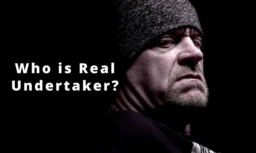 Who is real undertaker Mark Calaway