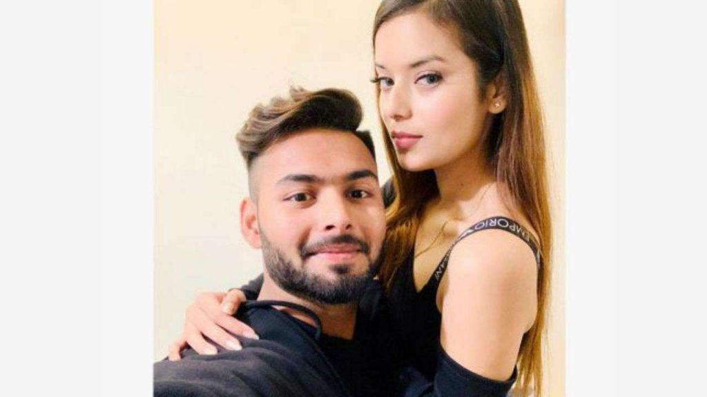 Rishabh Pant girlfriend Isha Negi