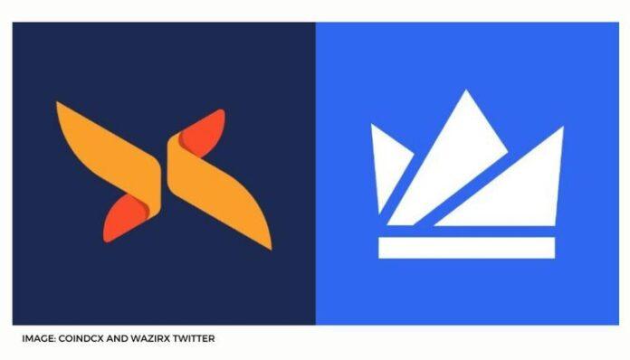 COINDCX AND WAZIRX TWITTER